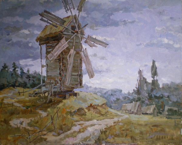 Windmill by Kirill Chebatov
