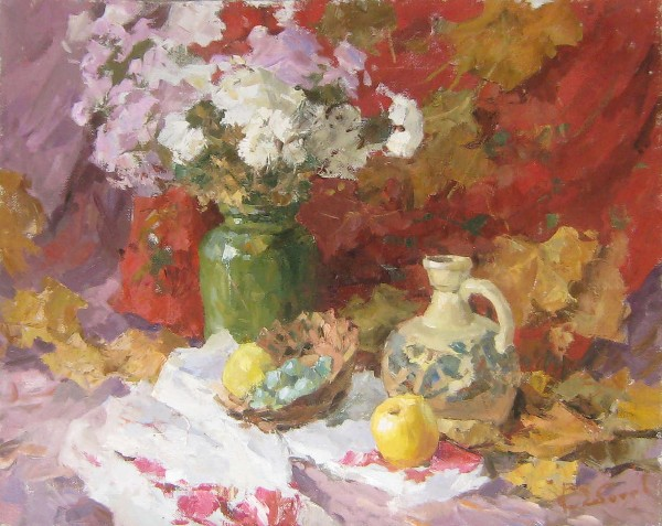 Autumn Still Life by Kirill Chebatov