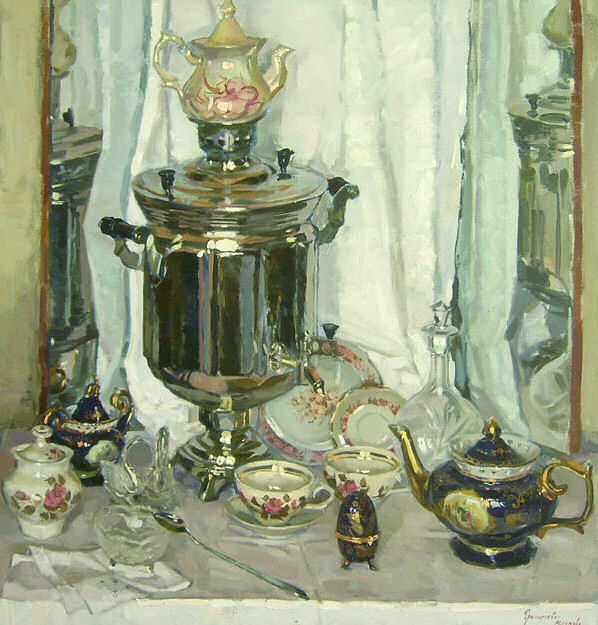 Still life Tea by Olga Grigorieva