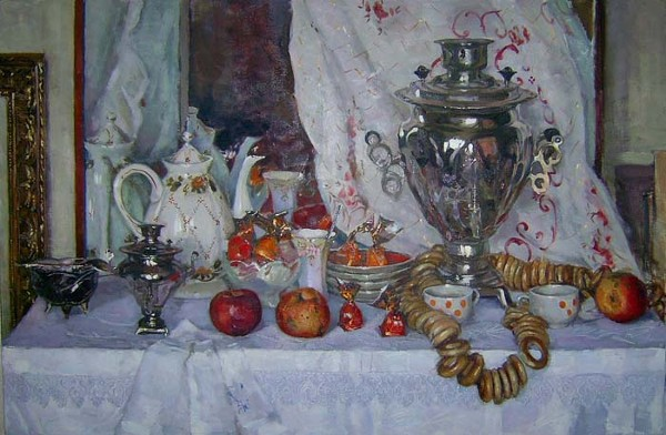 Still Life Party by Olga Grigorieva