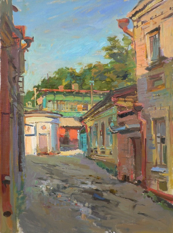 Evening in Kislovodsk by Olga Karpacheva