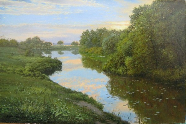 Oxbow Lake by Vladimir Alexandrov