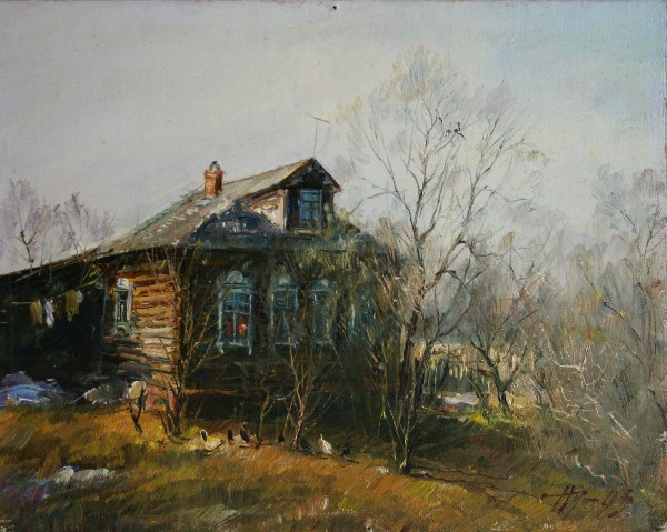 The Old House by Vladimir Pusovsky